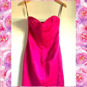 Betsey Johnson 💗 Pink corsage dress